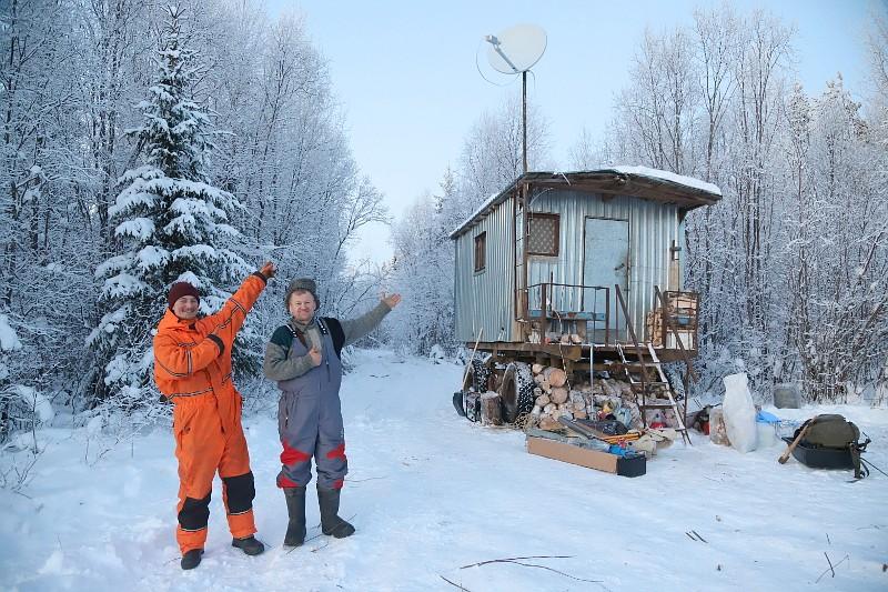 Волонтёры организовали пункт наблюдения за стройкой полигона ТКО на станции Шиес
