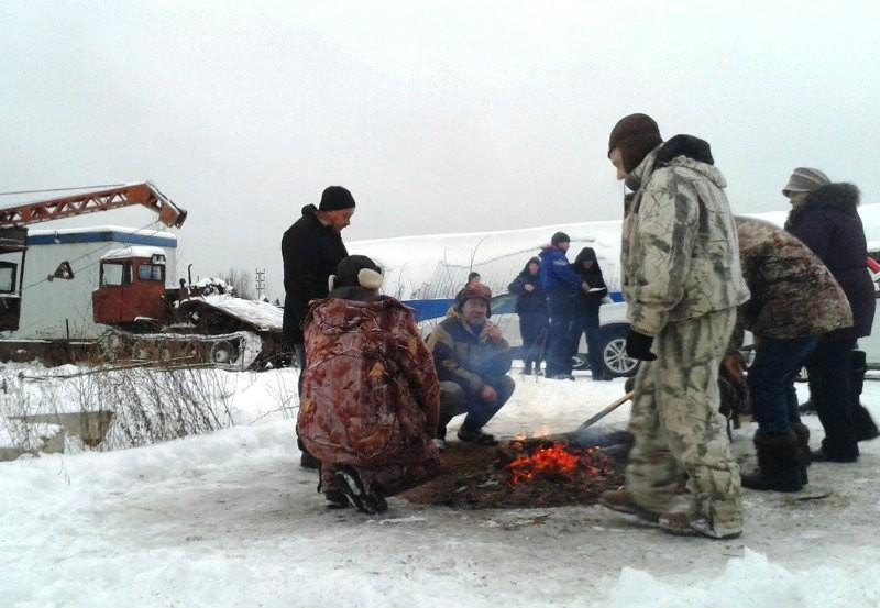 Жители Урдомы остановили строительство ЛЭП для полигона в Шиесе