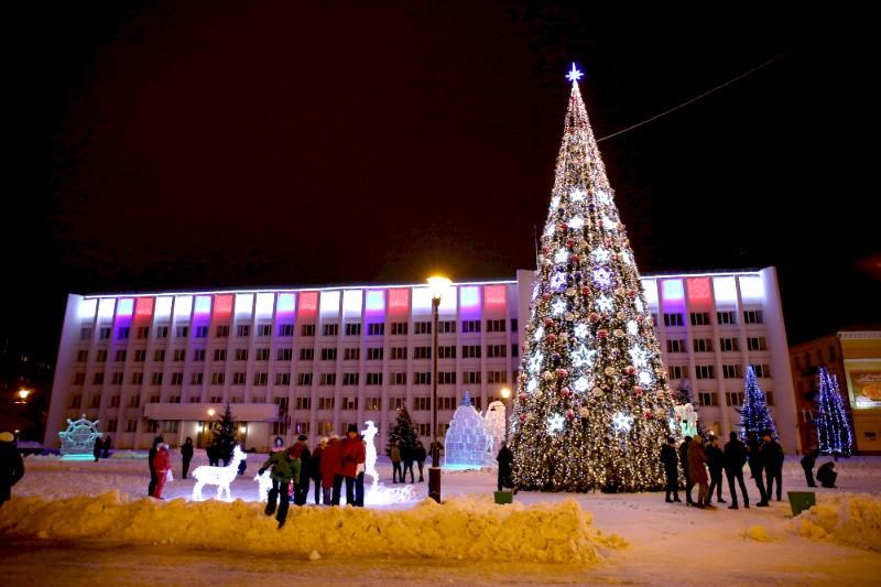 Главную городскую ёлку в Архангельске установят к 22 декабря
