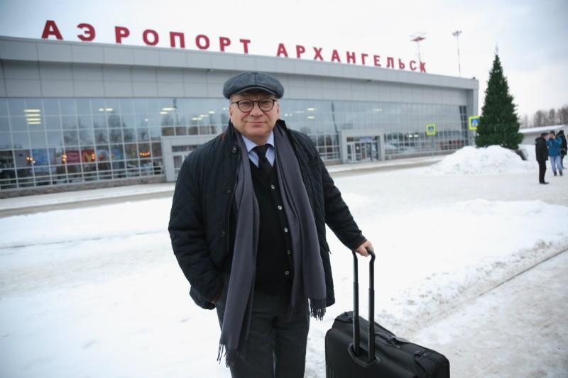 Игорь Угольников открыл «Arctic Open» молотком