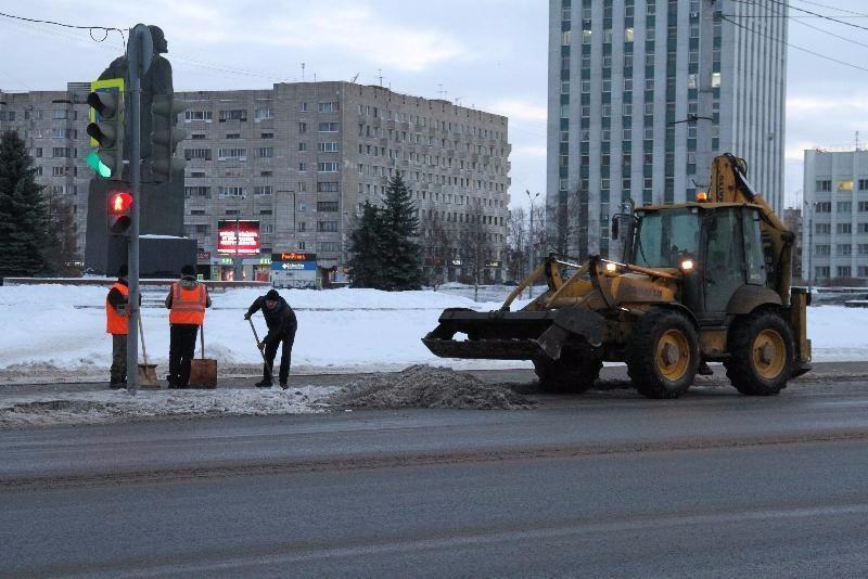 Горадминистрация Архангельска хочет наблюдать за уборкой снега онлайн