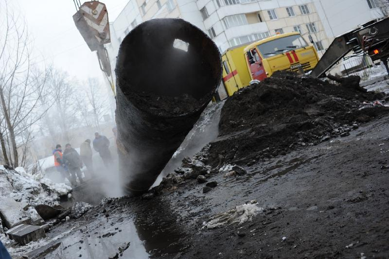 Десятки домов в Архангельске останутся без тепла, света и воды 27 ноября