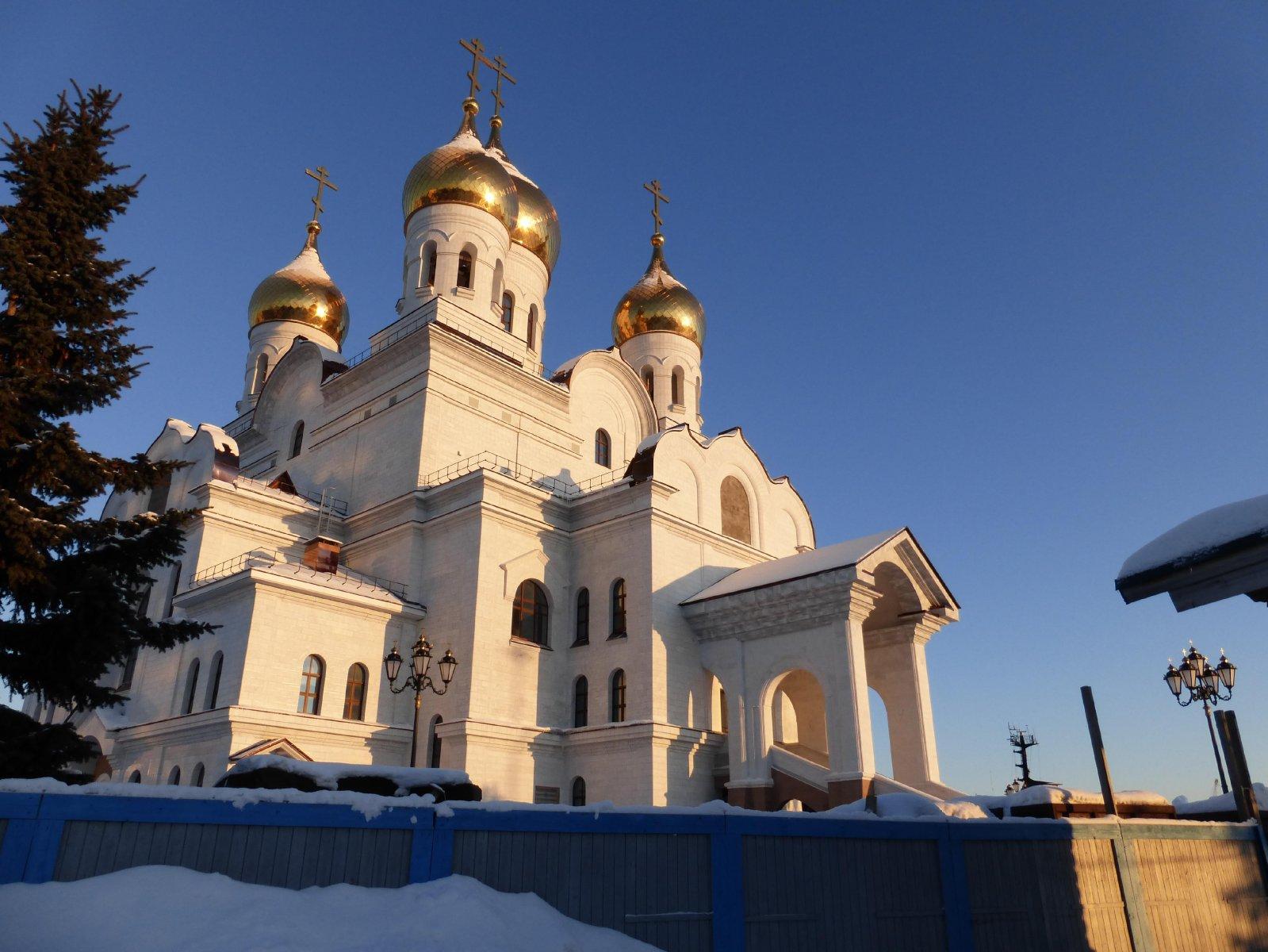 Готов ли главный храм к богослужениям