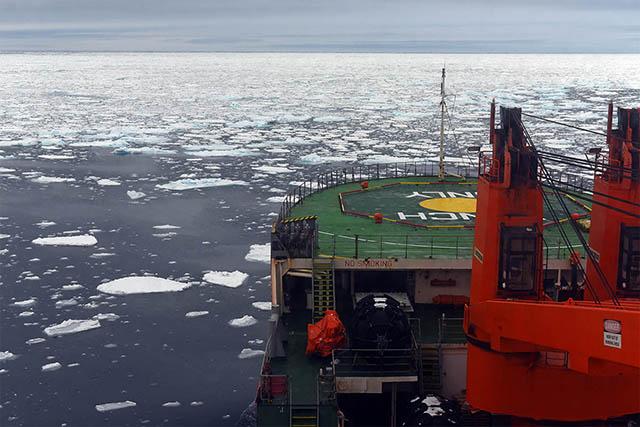 Экспедиция «Трансарктика-2019» ищет место для ледового лагеря