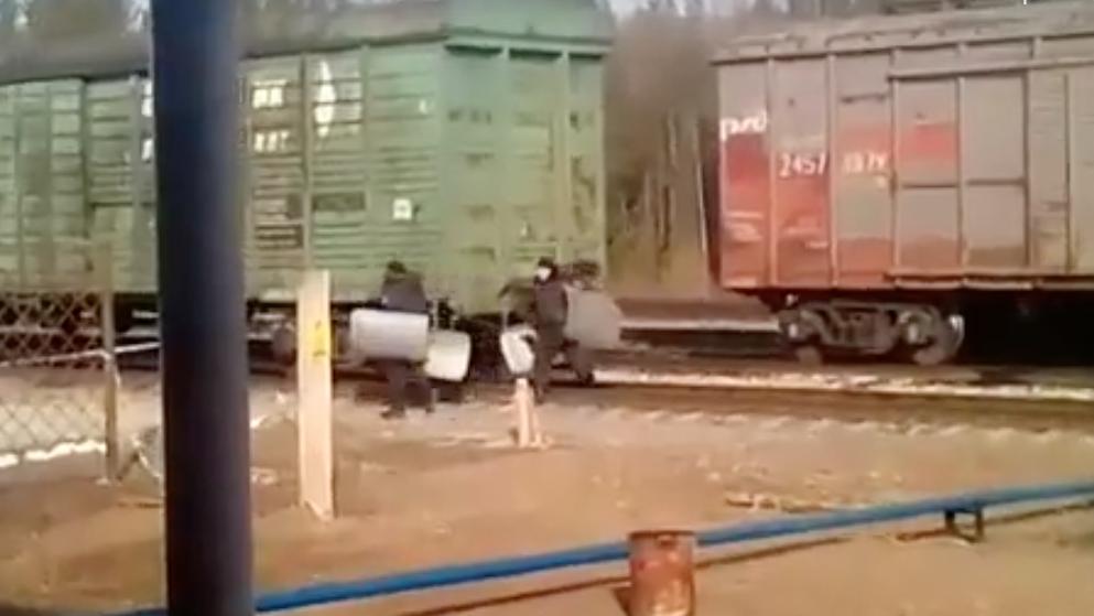 На станцию Шиес прибыл ОМОН