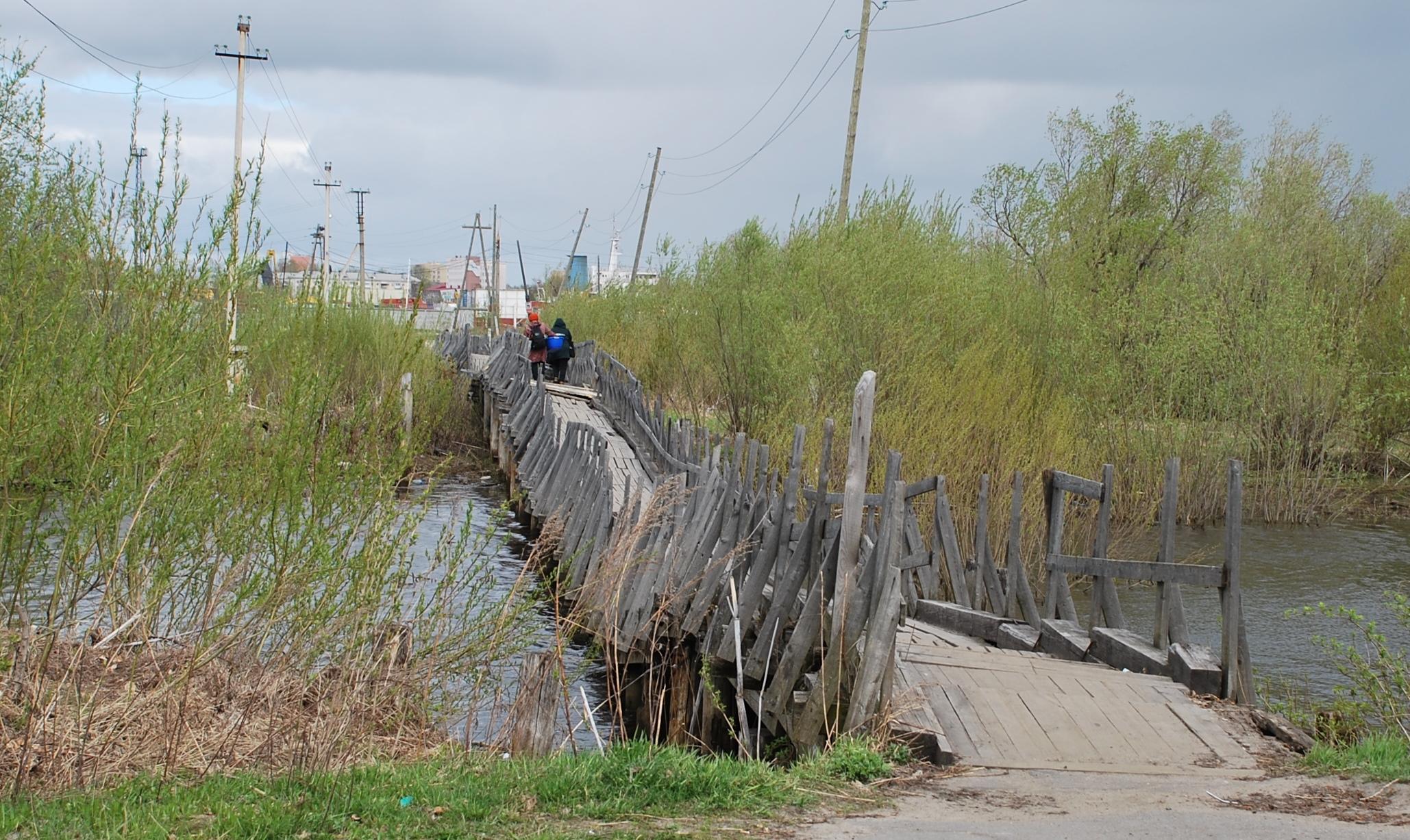 222 метра смертельной опасности под боком у Архангельска