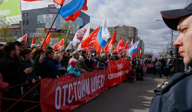 Архангельск выдает по три экомитинга в день