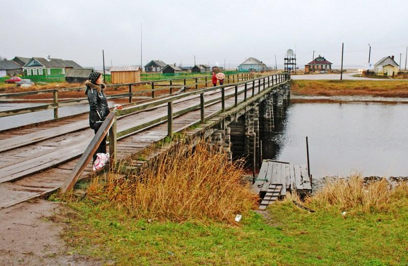 В Архангельской области нет проезда на Мезень, а Онега освободилась