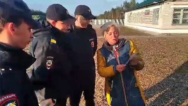 На станции Шиес сотрудники полиции задержали Анну Шекалову