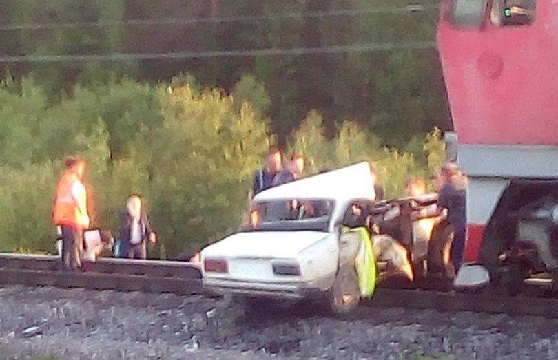 Дети, пострадавшие в ДТП с поездом, доставлены в Архангельск