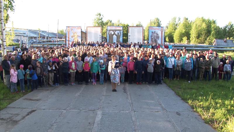 В Урдоме жители записали обращение к Путину