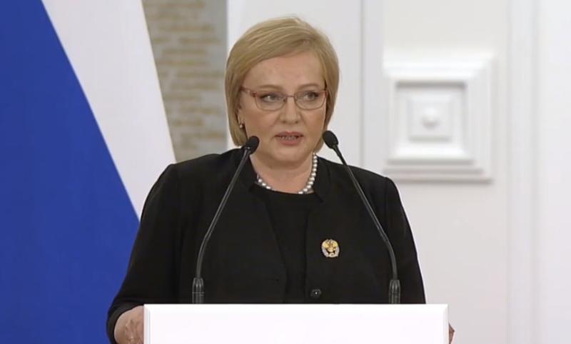 В Кремле Президент вручил государственную премию Елене Шатковской