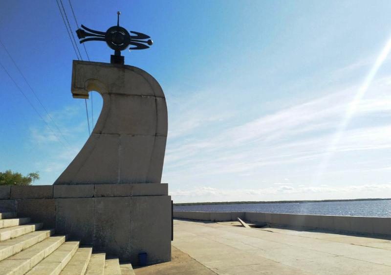 Свежий провал Архангельска на самом видном месте