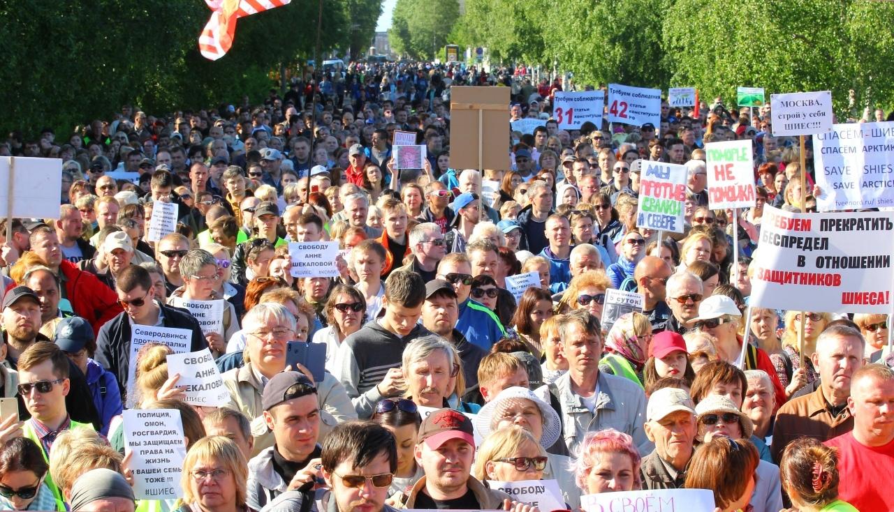 Ольга Руссова: Численность протестующих — задача с вариантами