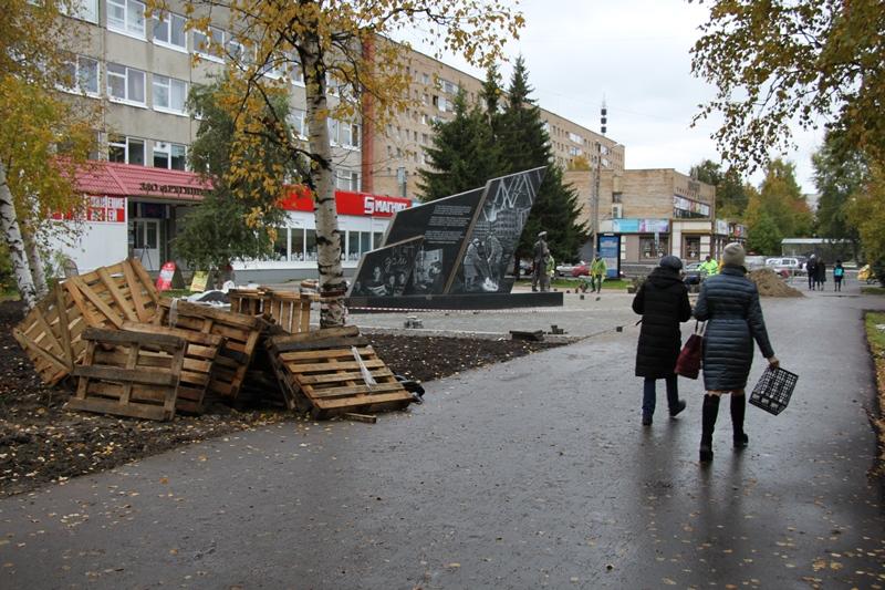 В Архангельске устанавливают нечто по проекту Мединского