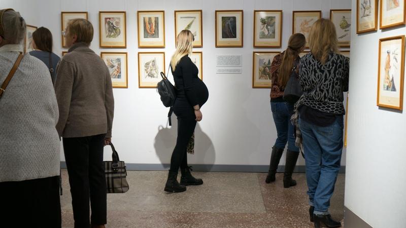 Демоны Дали, Врубеля и Мунка окунули Архангельск в свою стихию
