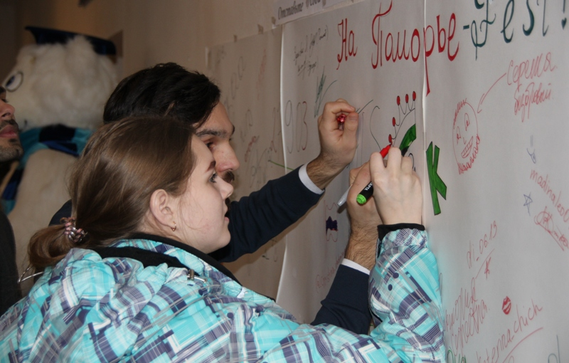 В САФУ завершился международный молодёжный фестиваль «Поморье-FEST»