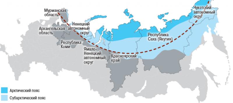 В Арктической зоне установят особый режим
