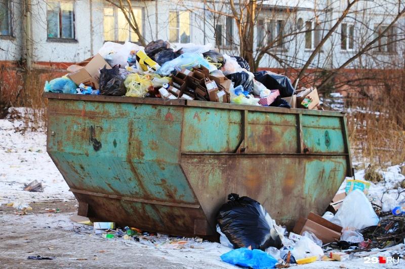 В новый год Архангельская область вступает с новыми мусорными тарифами