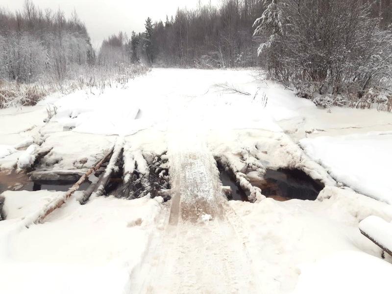 В Архангельской области Патракеевка попала в чиновничью блокаду