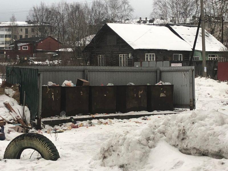 В Вельском районе введен режим «повышенной готовности» из-за мусора