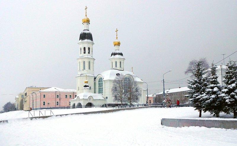 В архангельский Успенский храм прибывают православные святыни