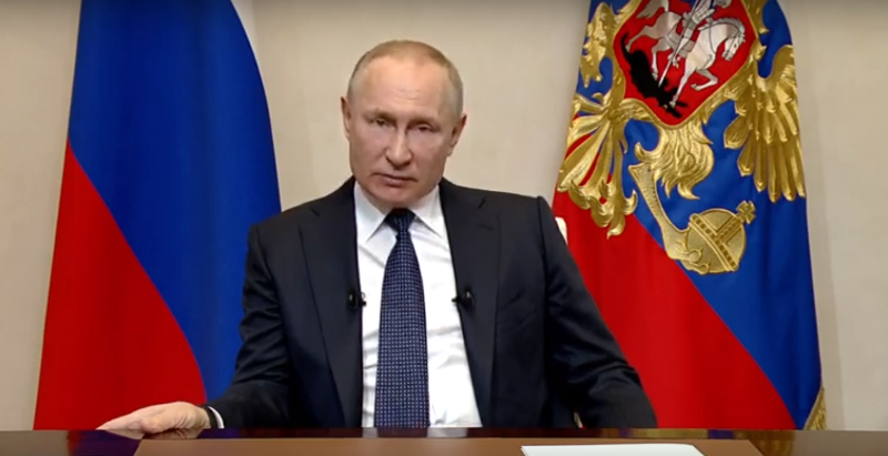 Путин отпустил страну