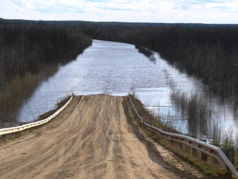 В низовьях Северной Двины и Мезени ожидаются подтопления