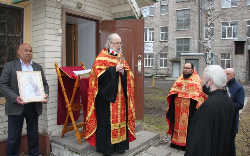 Архангельская клиника попросила о молебне против смертоносныя заразы
