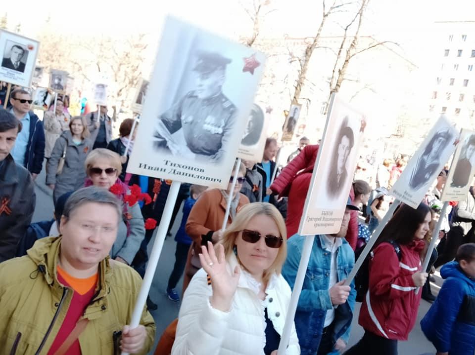 Микрорайон разбудила Клавдия Шульженко