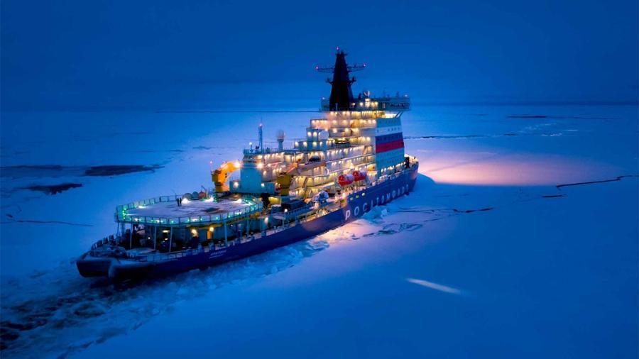 Ледокол «Арктика» начнёт работу на СМП в конце этой недели