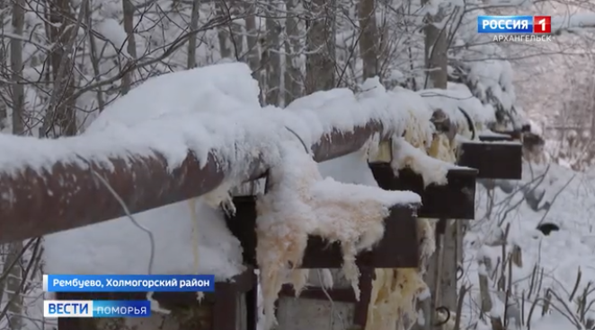 Горелками не справились: Рембуево остаётся с замёрзшим водоводом