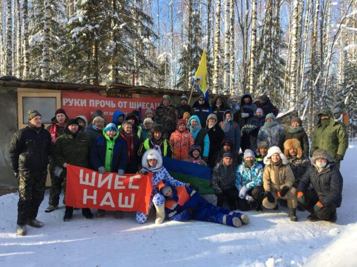 Экоактивисты восстановили на Шиесе пост «Костёр»